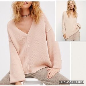 super comfy and cute free people sweater!